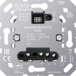 JUNG Tastdimmer 1711DE Universal LED