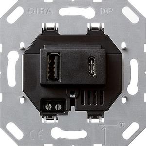 GIRA Spannungsversorgung 236900 2f. Typ A/C Einsatz