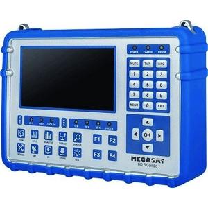 MEGASAT Satmessgerät HD5 Combo  DVB-S/-S2, DVB-C/-C2, DVB-T/-T2