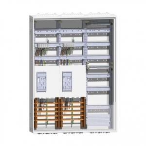 ABN 2 Zähler Komplett-Schrank S37EA122 1 Verteiler mit APZ 1100