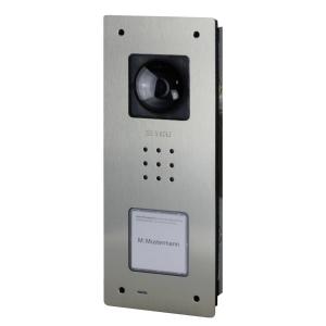 Siedle Video-Türstation BCVU 850-1-0 E Compact UP Edelstahl gebürstet