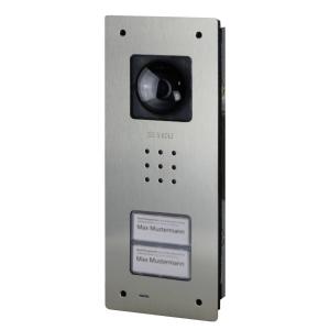 Siedle Video-Türstation BCVU 850-2-0 E Compact UP Edelstahl gebürstet