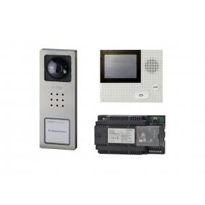 Siedle Videoanlagen-Set SET CVB 850-1 E/W Edelst. Basic Bus