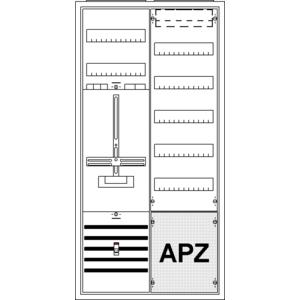 Striebel Komplettschrank 2CPX035882R9999 KS243Z Süd 2/3A 1Z1V7