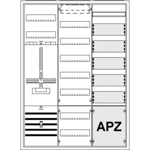 Striebel Komplettschrank 2CPX035889R9999 KS248Z Süd 3/3A 1Z1V7TK