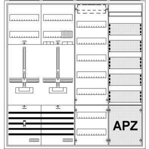 Striebel Komplettschrank 2CPX035894R9999 KS304Z EON - Bayern 4/3A 1Z1TSG1V7TK