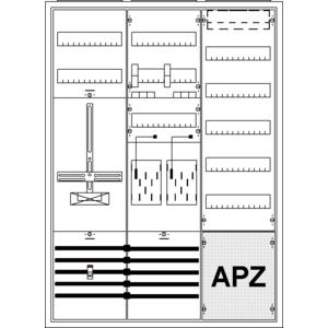 Striebel Komplettschrank 2CPX035952R9999 KS796Z AP 3/3A 2Z1TSG1V5A2