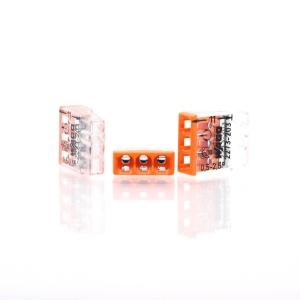 Wago Dosenklemme 2273-203 3Leiter 3x0,5-2,5 qmm orange 100 Stück