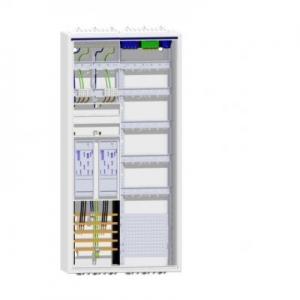 Hager Zählerschrank 2 eHZ-Zähler Verteiler mit APZ ZB32S