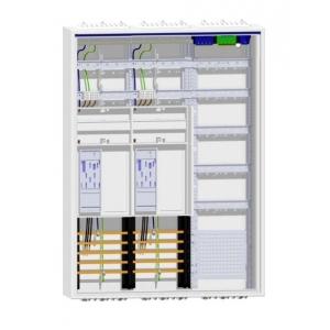 Hager Komplettschrank 2 eHZ-Zähler Verteiler mit APZ ZB33S